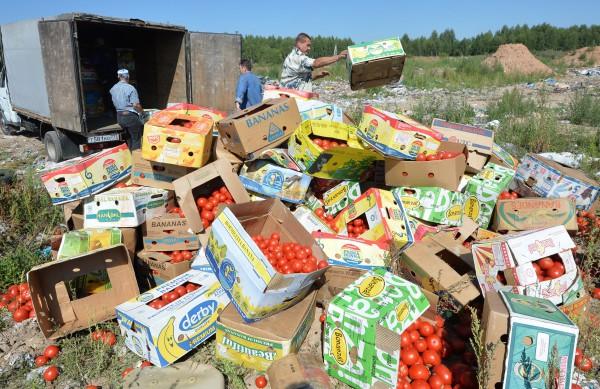 Уничтожение помидоров