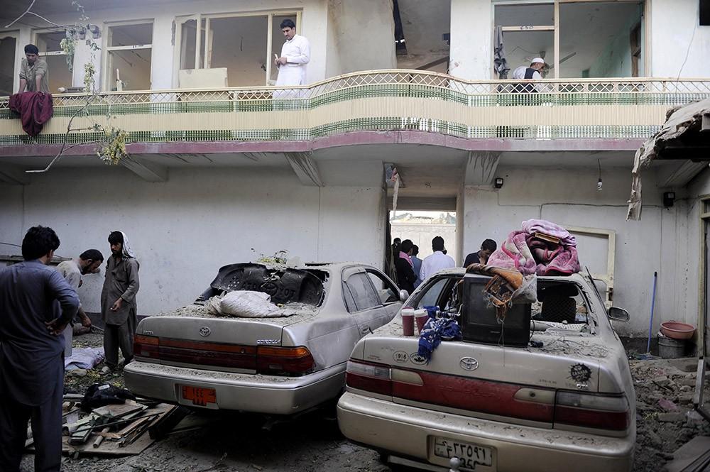 Результат взрыва в Кабуле
