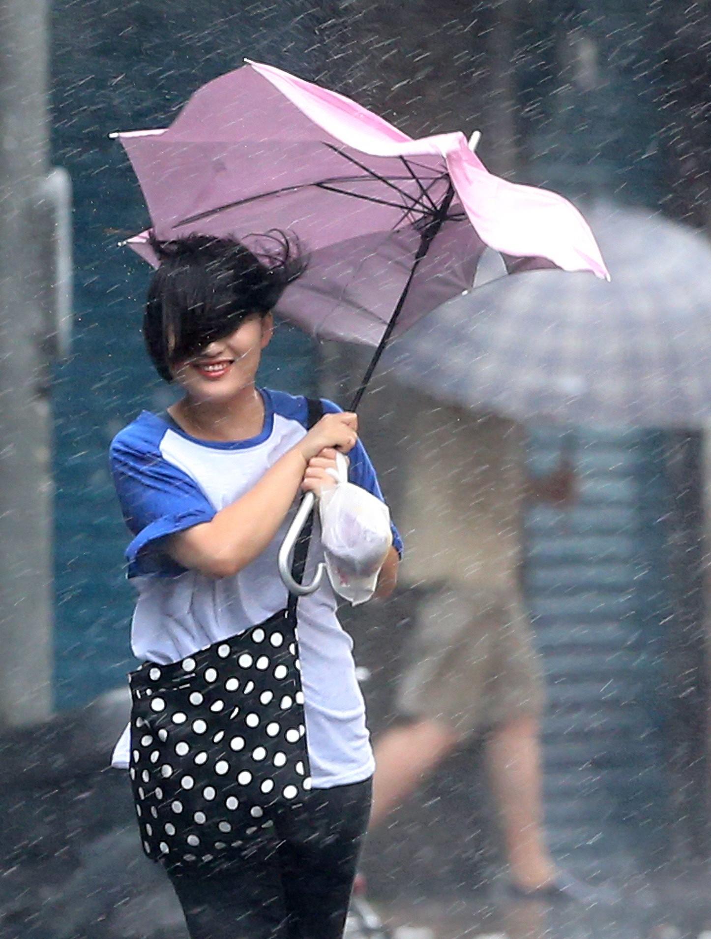 Тайфун в Тайване