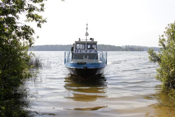 Патрульный катер Истринского водохранилища