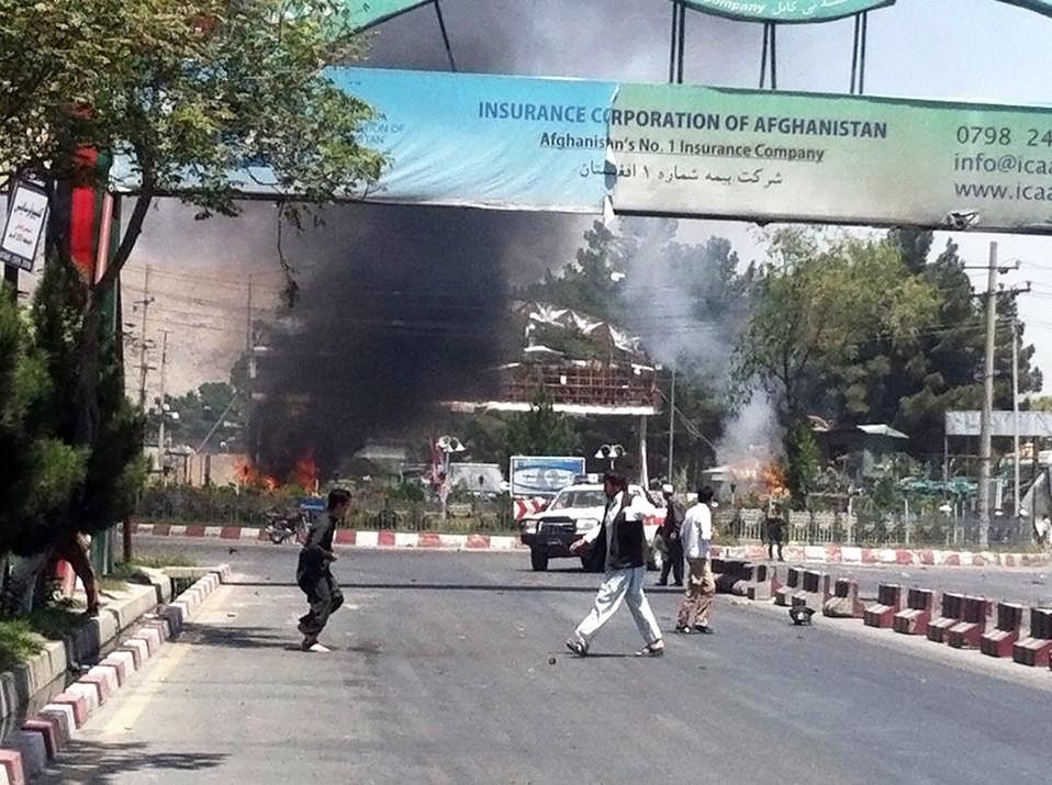 Последствия теракта в Кабуле