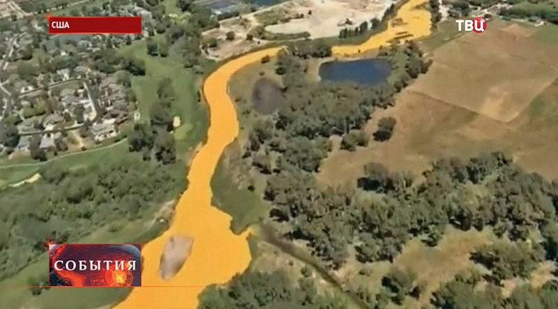 Разлив воды с мышьяком в США