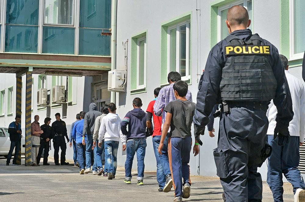 Полиция Чехии задержала нелегальных мигрантов