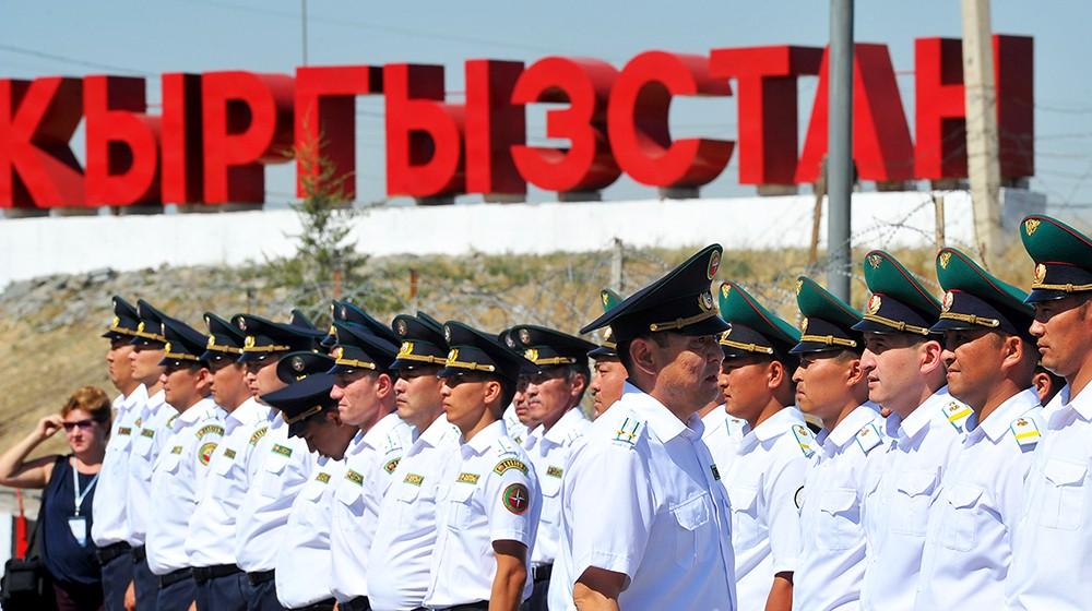 Военнослужащие Кыргызстата
