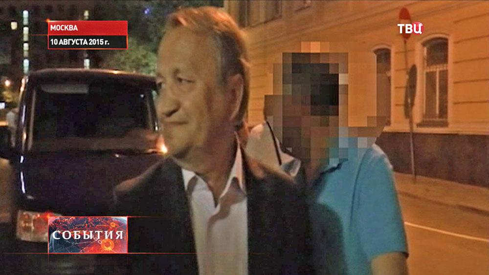 Задержание вице-губернатора Новгородской области Виктора Нечаева