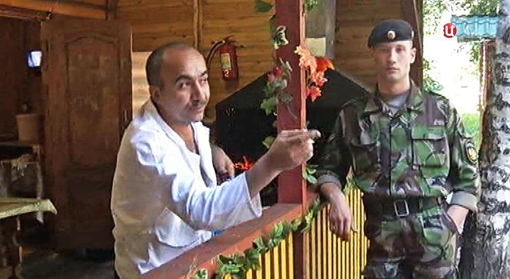Работник кафе в Нижнем Новгороде