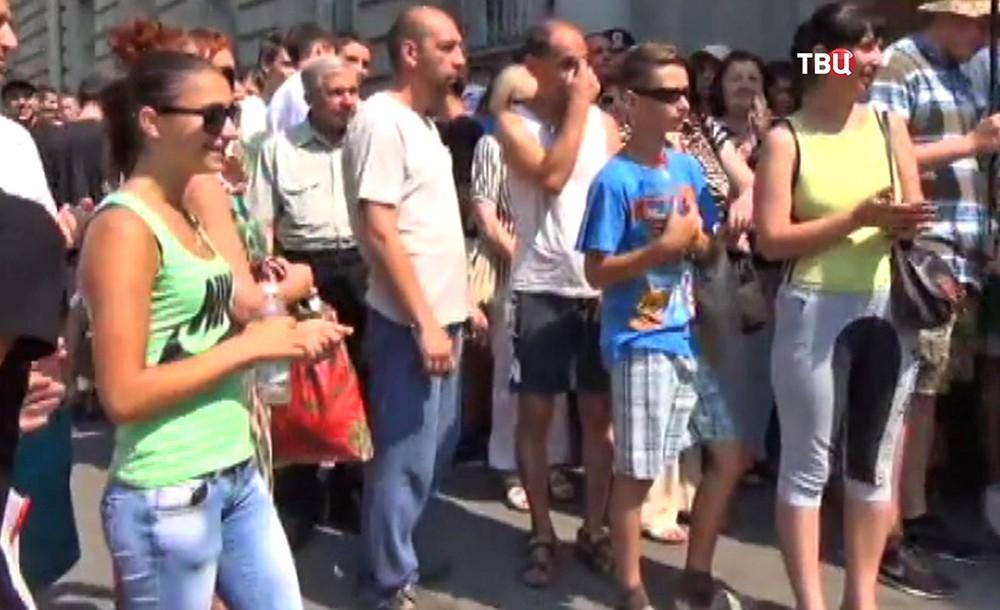 Митинг в Украине
