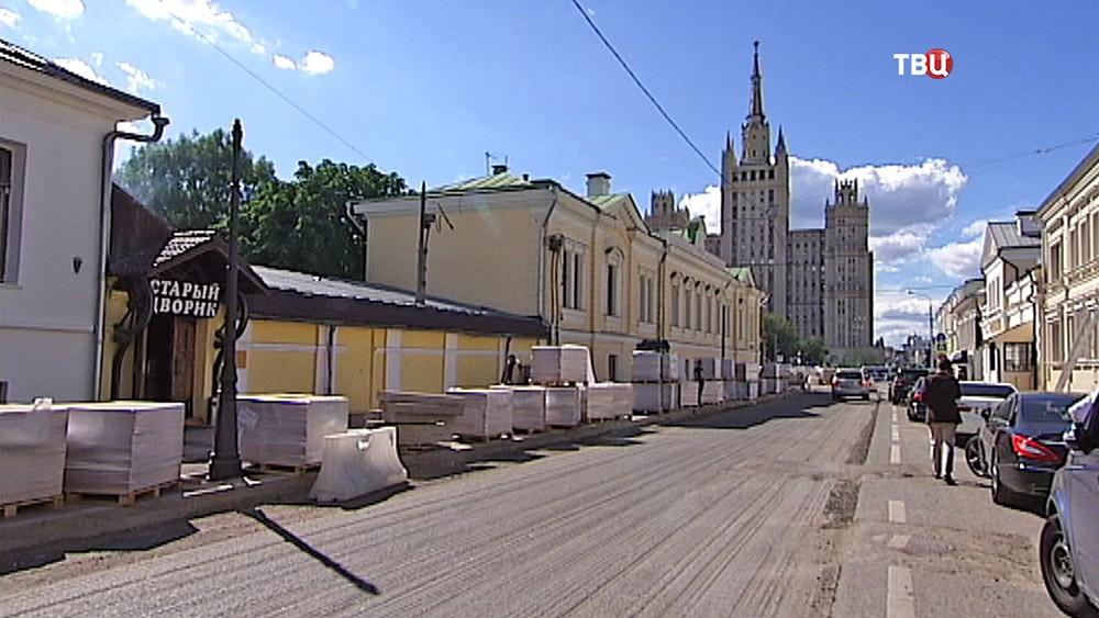 Реконструкция Малой Никитской улицы