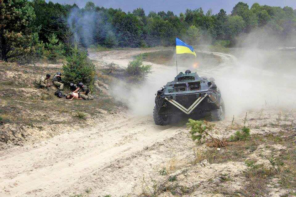 Украинские военная техника в Донбассе