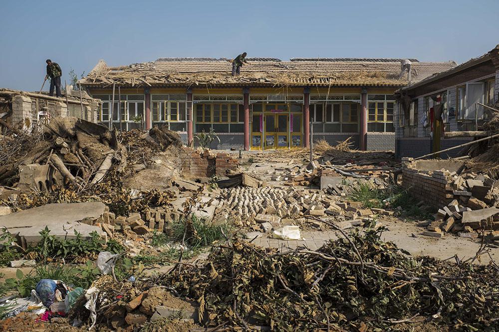 Результат взрыва в Китае