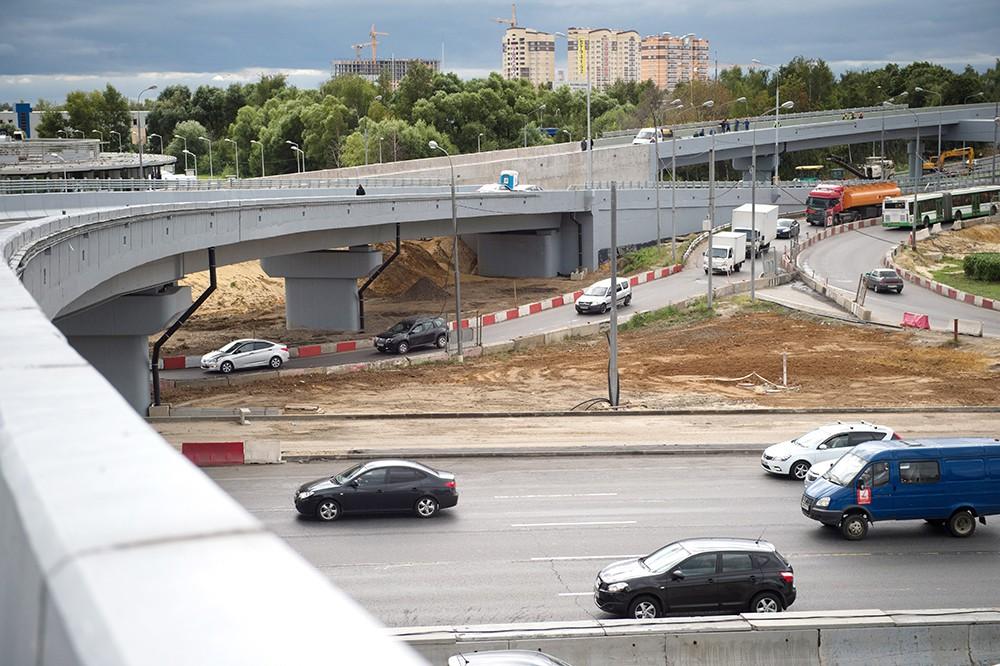 Реконструкция Каширского шоссе и благоустройство прилегающих территорий
