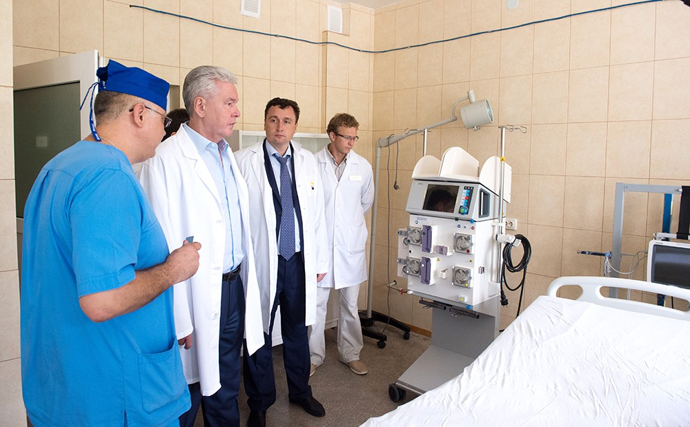 Рабочая поездка мэра Москвы Сергея Собянина в Севастополь
