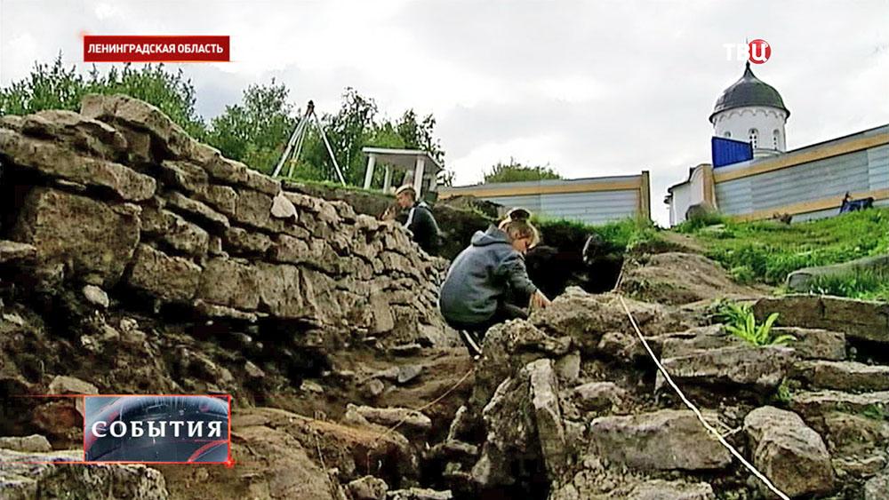 Археологические раскопки