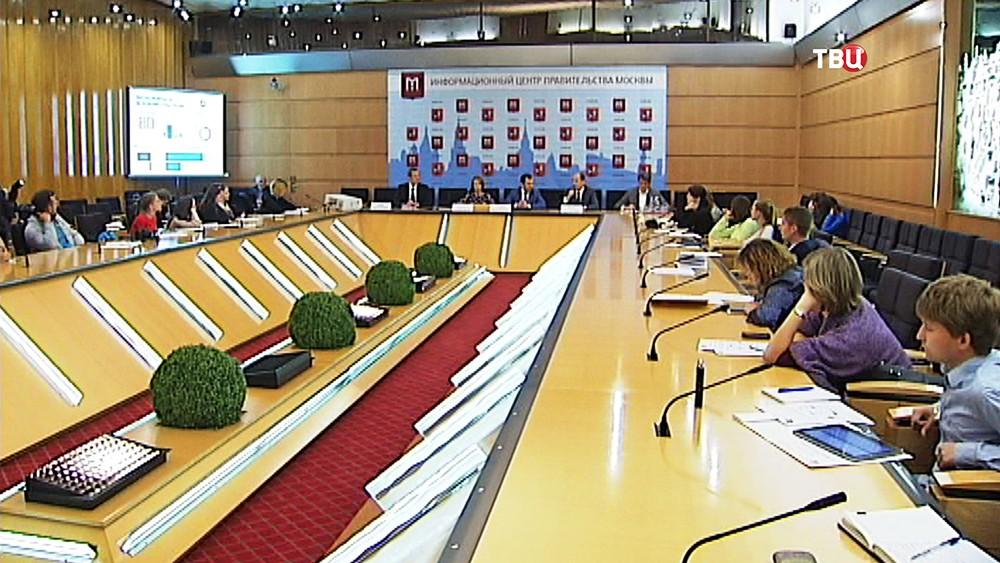 Пресс-конференция по итогам конкурса на замещение вакантных позиций глав управ районов