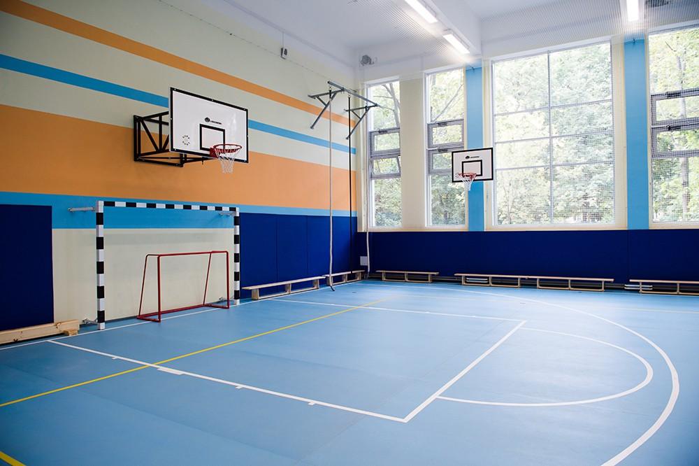 Спортзал в новой школе