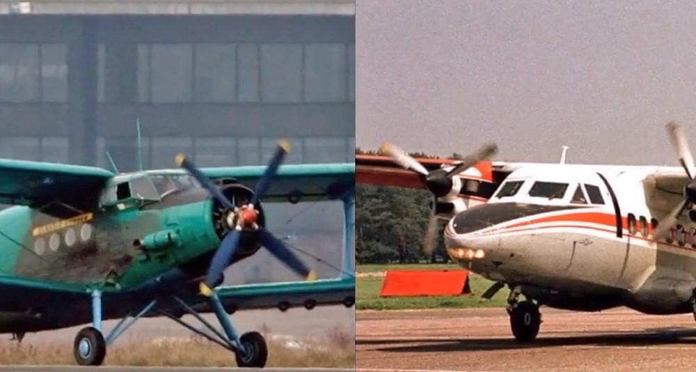Два спортивных самолета столкнулись в небе над Словакией