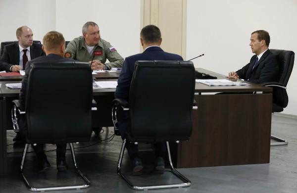 """Совещание о ходе строительства космодрома """"Восточный"""""""
