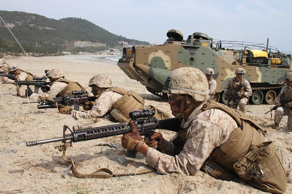 Совместные военные учения США и Южной Кореи