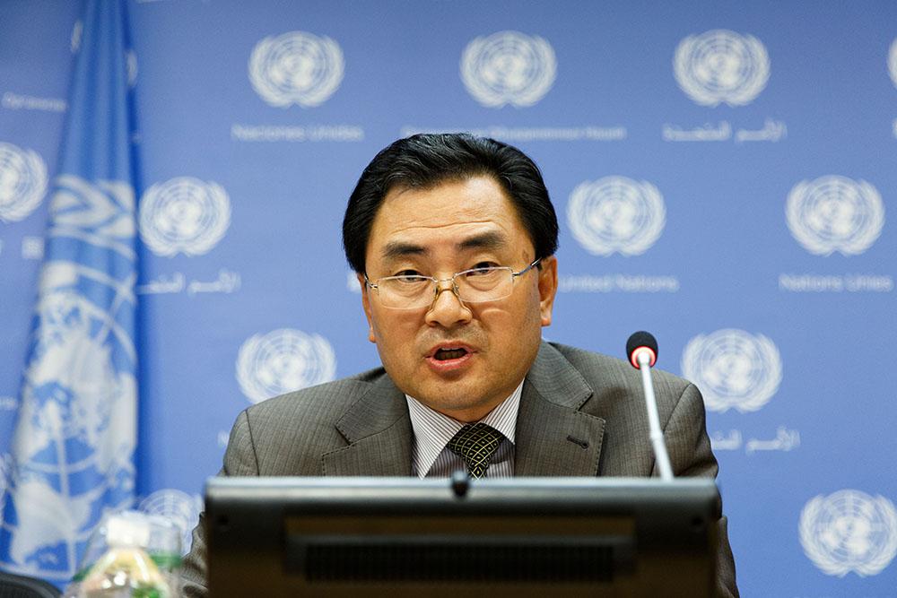 Заместитель постоянного представителя КНДР при ООН Ан Мен Хун
