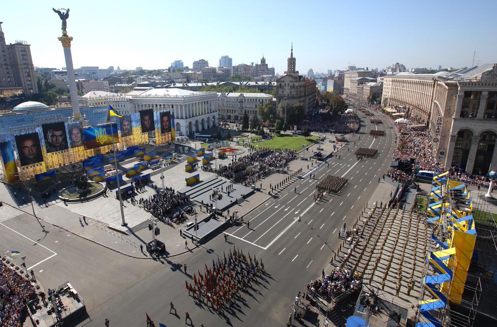 День независимости Украины в Киеве