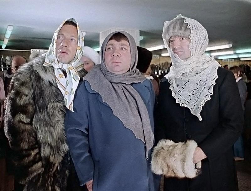 """Фильм """"Джентельмены удачи"""" реж. Георгий Данелия"""