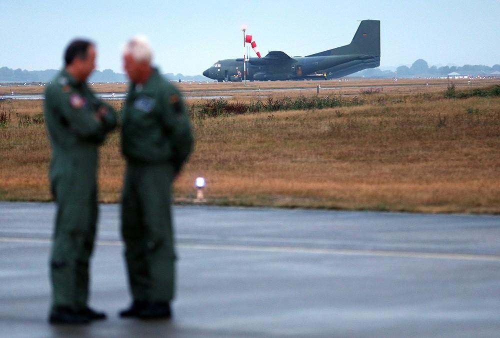 Аэродром ВВС НАТО в Германии