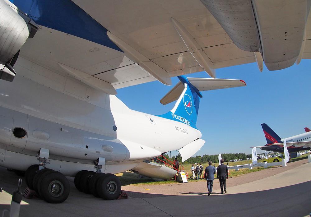 Ил-76 лаборатория Центра подготовки космонавтов