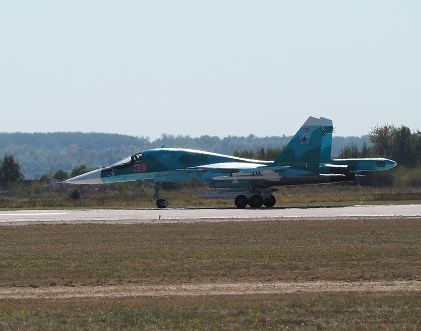 Су-34 на авиасалоне МАКС-2015
