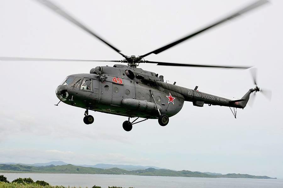 Вертолёт ВМФ России