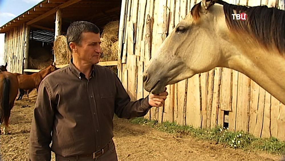 Хозяин коневодческой фермы
