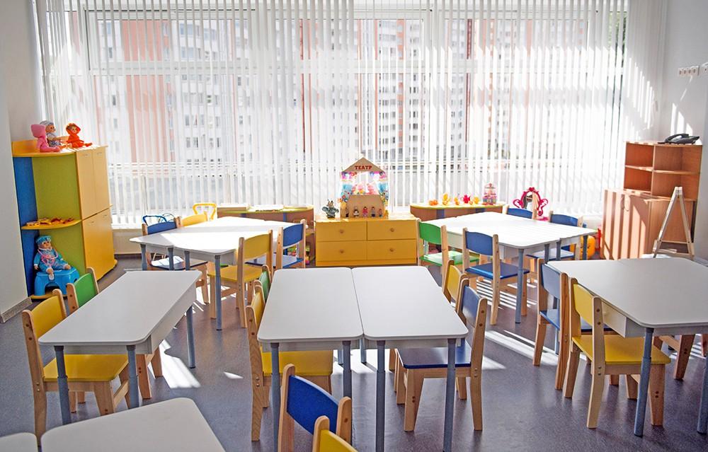 Интерьер нового детского сада