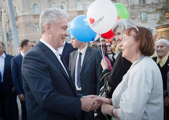 Сергей Собянин и москвичи