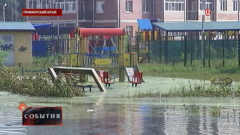 Наводнение в Приморском крае