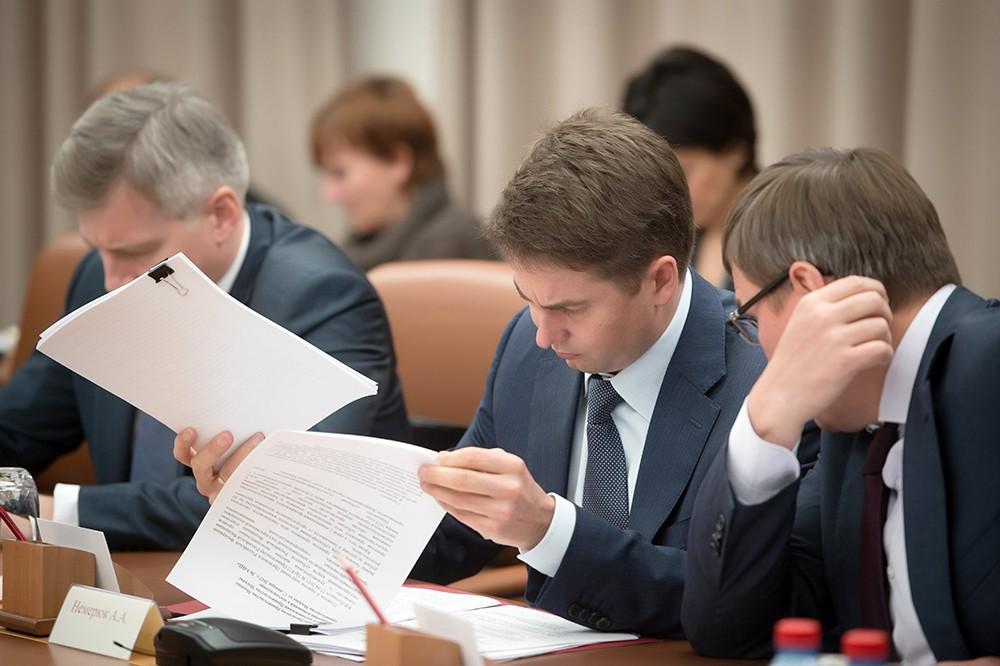 Руководитель Департамента торговли и услуг города Москвы Алексей Немерюк
