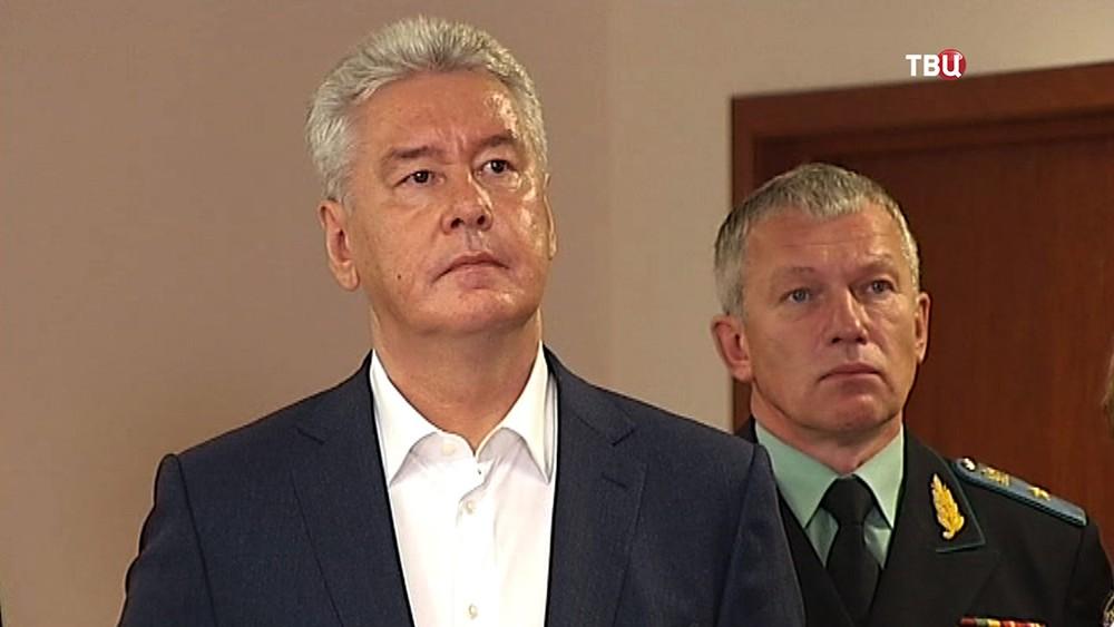 Сергей Собянин на открытии нового здания Тушинского районного суда