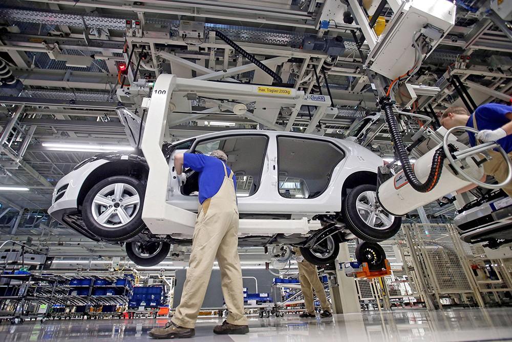 Volkswagen планирует поставлять из России в Европу двигатели