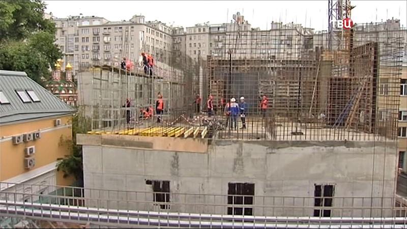 """Строительство электроподстанции """"Берсеневская"""""""