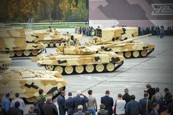 Образцы военной техники на международная выставка Russia Arms Expo