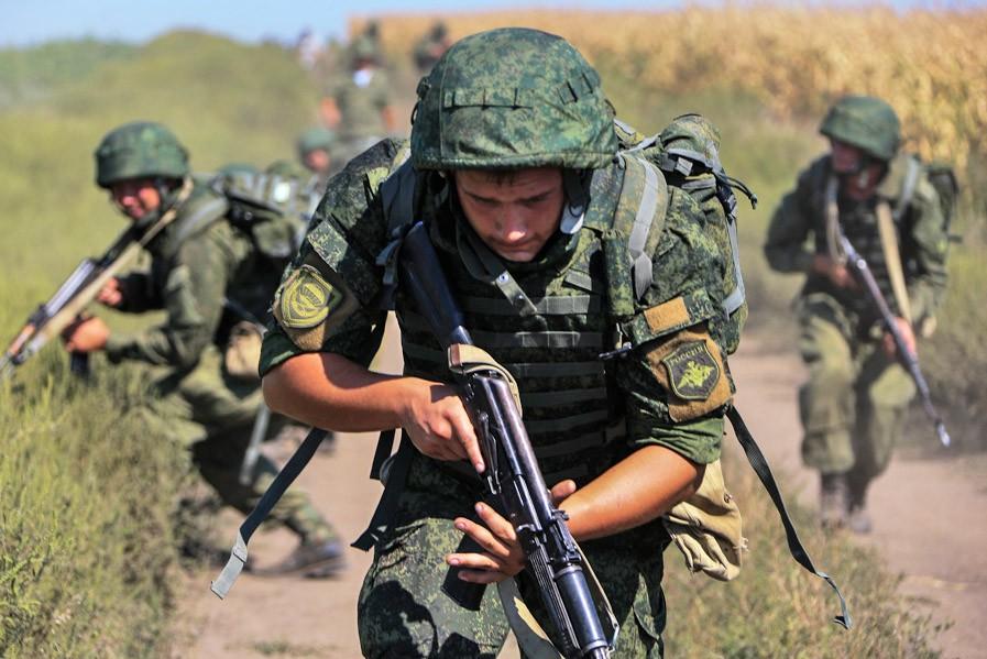 Военнослужащие воздушно-десантных войск