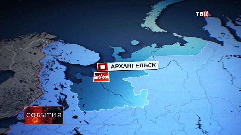 В ДТП в Архангельске