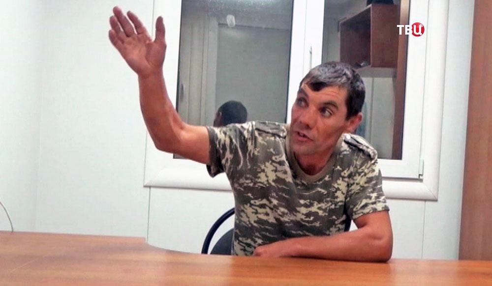 Задержанный в Крыму украинский солдат