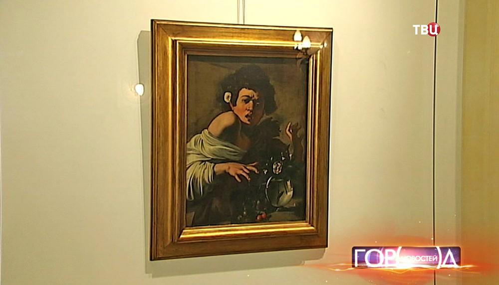 "Картина Микеланджело Меризи да Караваджо ""Мальчик, укушенный ящерицей"""
