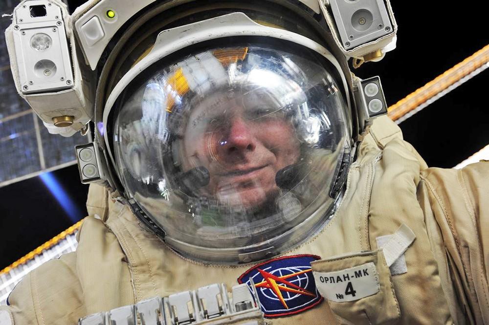 Российский космонавт Геннадий Падалка