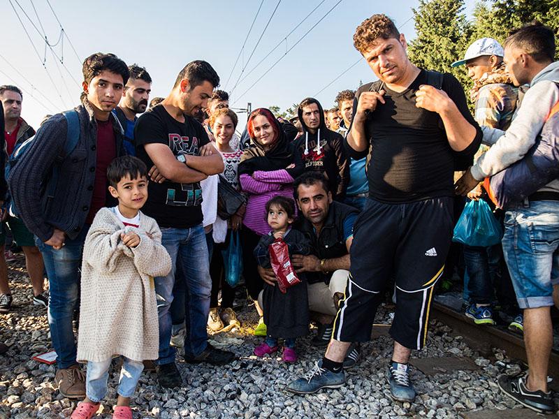 Украина примет всех беженцев из ЕС на своей территории