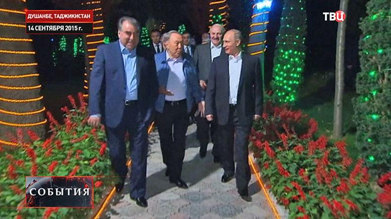 Лидеры стран ОДКБ и Владимир Путин