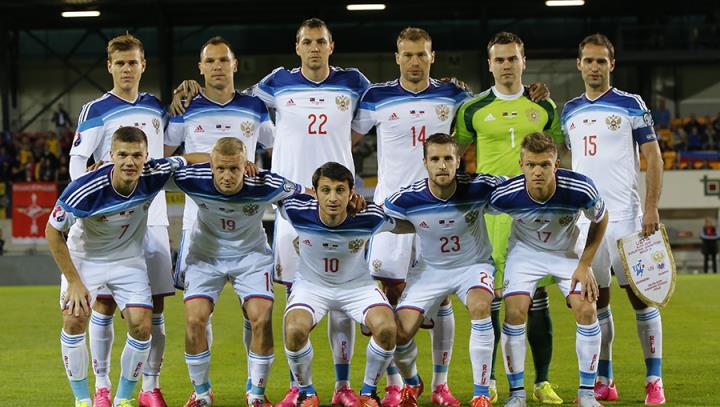 фото сборной россии по футболу 2016