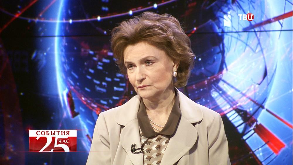 Наталья Нарочницкая, глава Европейского института демократии и сотрудничества в Париже