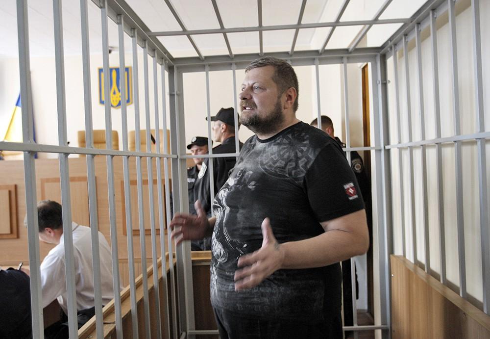 Игорь Мосийчук в зале суда