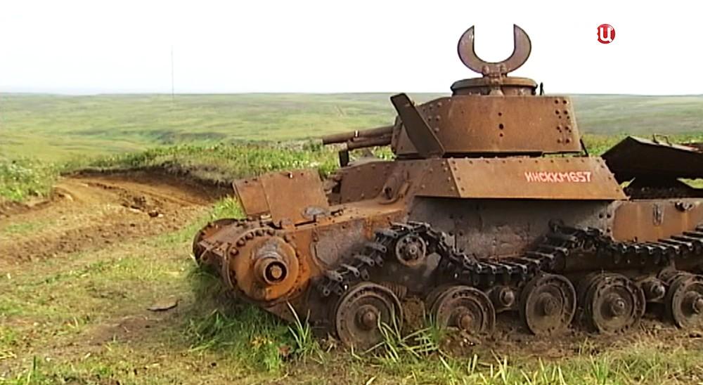 """Японский средний танк """"Чи-Ха"""""""