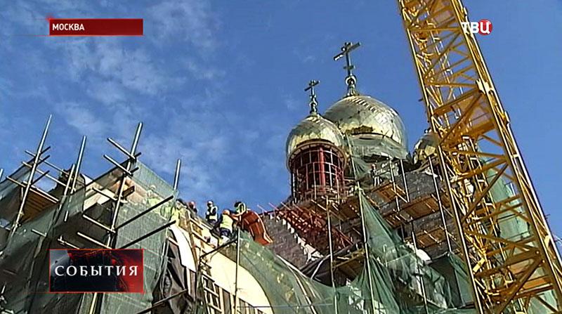 Строительство храма в честь святой блаженной Матроны Московской